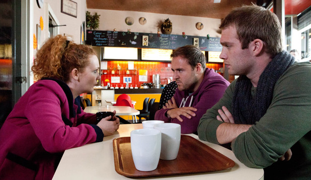 Tommy and Fiz tell Tyrone to marry Kirsty