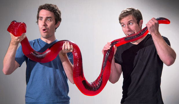 26-Pound and over 7 foot long edible Gummy Party Python