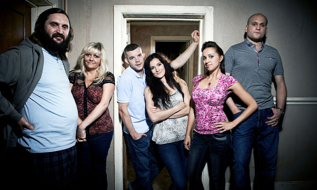 Him & Her: Dan (JOE WILKINSON), Shelly (CAMILLE CODURI), Steve (RUSSELL TOVEY), Becky (SARAH SOLEMANI), Laura (KERRY HOWARD), Paul (RICKY CHAMP)
