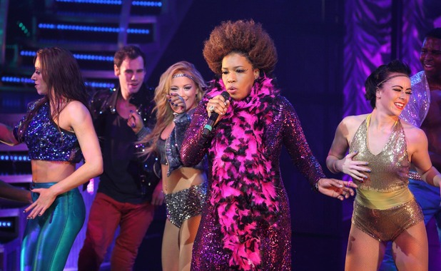 Macy Gray performs 'Thriller Live' for BBC Children in Need POP Goes The Musical