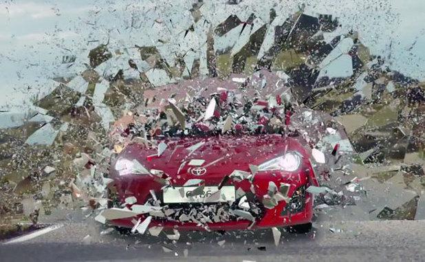 Toyota's Grand Theft Auto-style ad