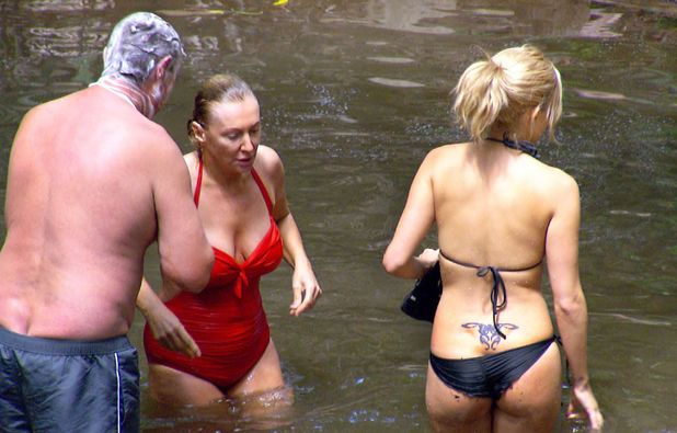 Eric Bristow, Nadine Dorries, Ashley Roberts, I'm a Celebrity 2012