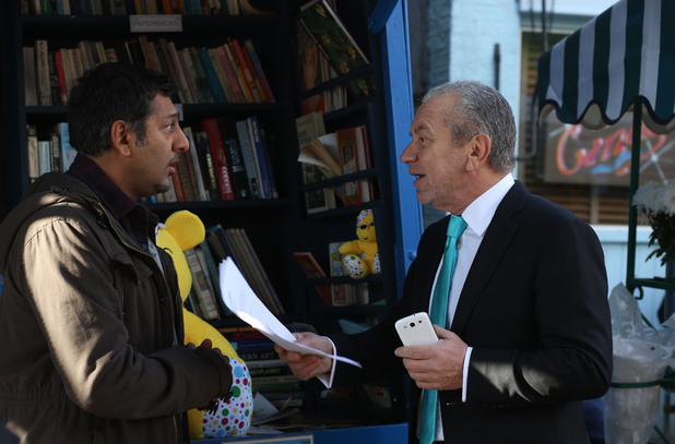 Masood Ahmed (Nitin Ganatra) and Lord Sugar