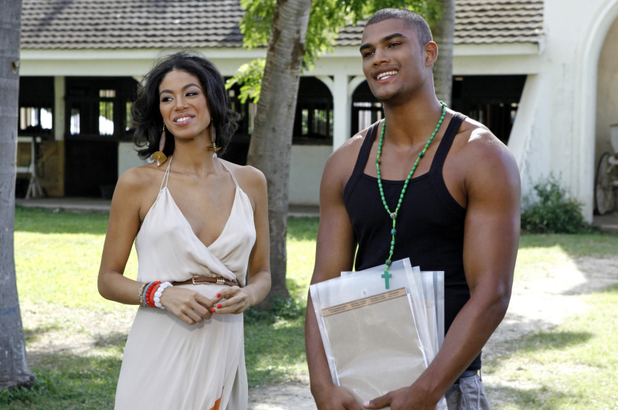 America's Next Top Model S19E11 - 'The Girl Who Freaks Out On Horseback': Miss Jamaica Yendi Phillips and Rob Evans