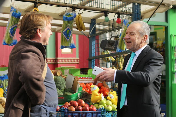 Ian Beale (Adam Woodyatt) and Lord Sugar