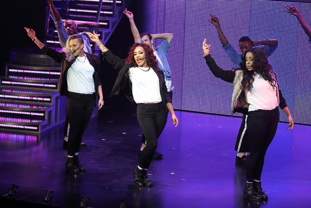 Stooshe perform 'Thriller Live' for BBC Children in Need POP Goes The Musical