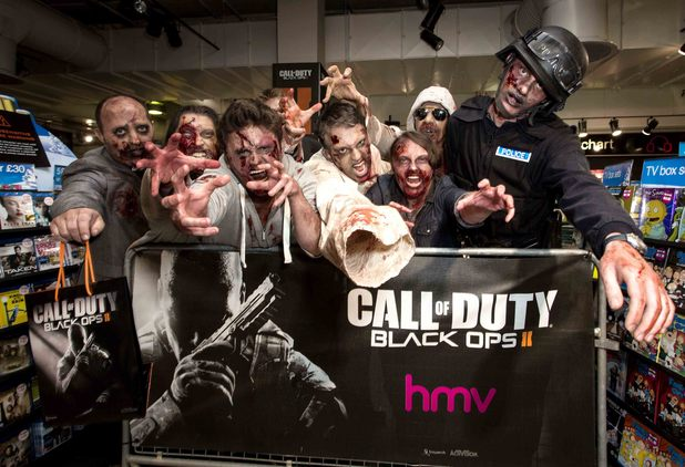 The 'Call Of Duty: Black Ops II' midnight launch at HMV Oxford Street, London