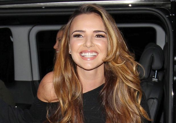 Nadine Coyle of Girls Aloud at the BBC Radio 1 Studios