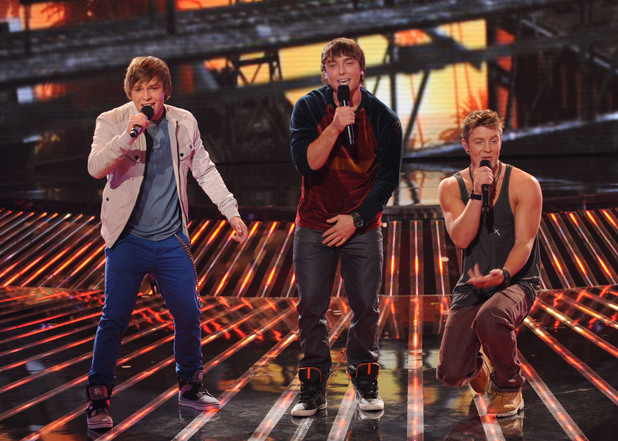 Emblem3 on 'X Factor' USA top 12