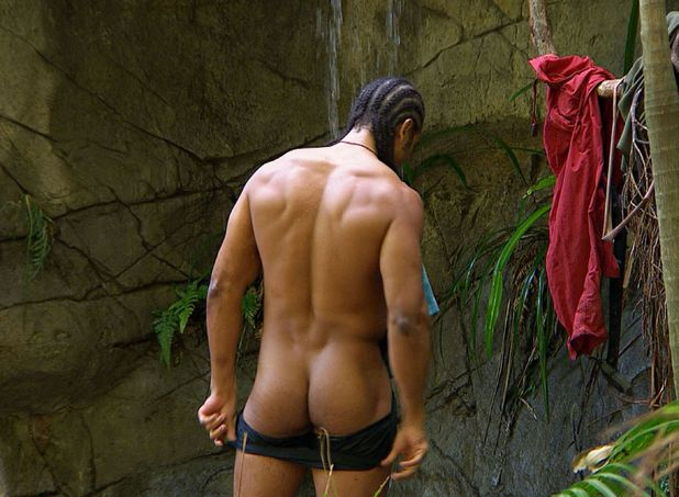 I&#39;m a Celebrity, David Haye, naked