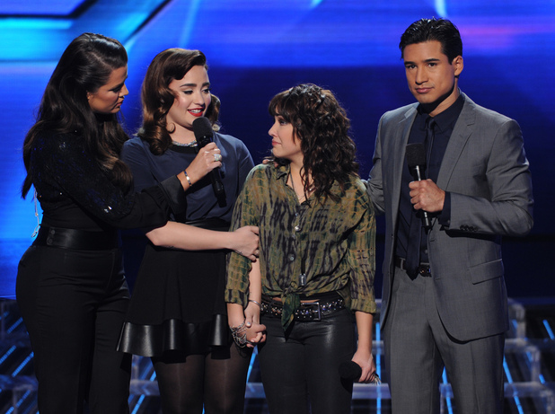 Jennel Garcia eliminated from The X Factor USA