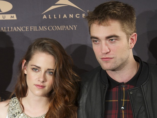 'The Twilight Saga: Breaking Dawn - Part 2' Photocall at Villamagna Hotel Featuring: Robert Pattinson;Kristen Stewart Where: Madrid, Spain When: 15 Nov 2012