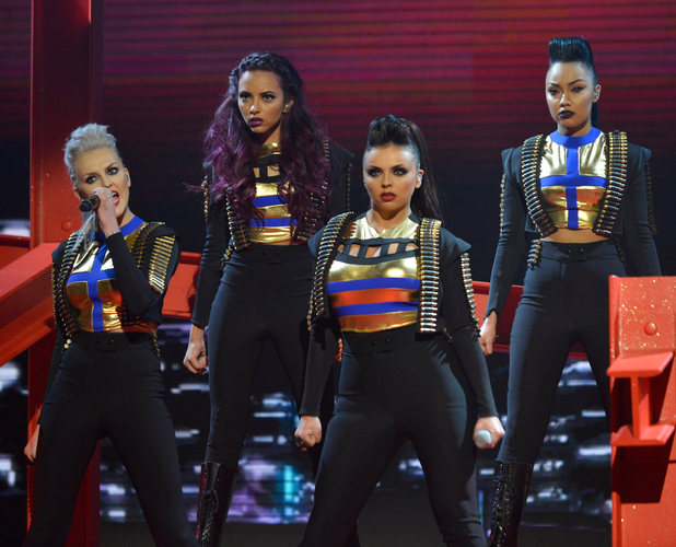 Miss Mode: Little Mix X Factor Show 11/11/2012