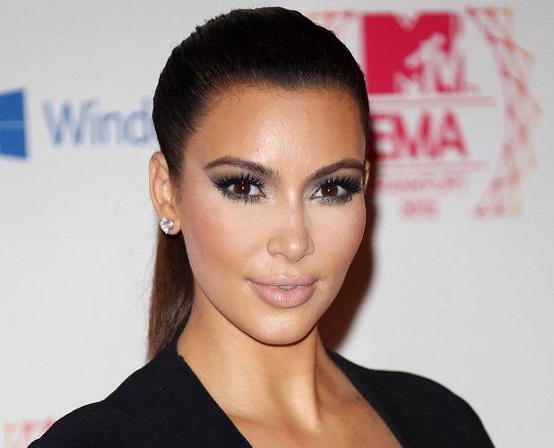 Miss Mode: Kim Kardashian The MTV EMA's 2012 held at Festhalle - arrivals Frankfurt, Germany - 11.11.12Mandatory Credit: Lia Toby/WENN.com