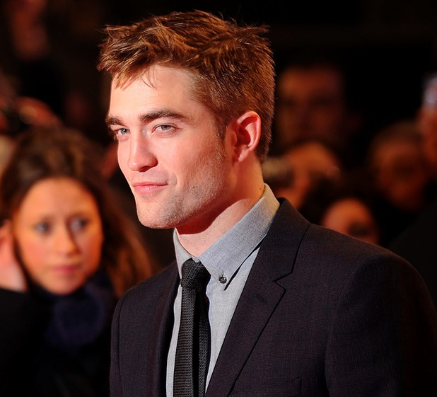 Robert Pattinson arriving for the premiere of The Twilight Saga: Breaking Dawn Part 2 at the Empire and Odeon Leicester Square, London