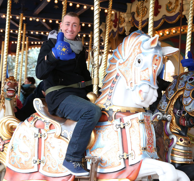 Christopher Maloney The X Factor finalists enjoy a day out at Disneyland Paris Paris, France