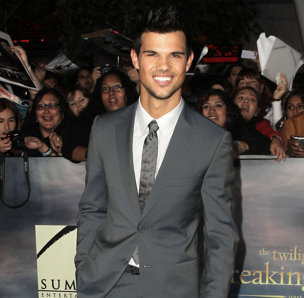 Breaking Dawn: Part 2 premiere - Taylor Lautner