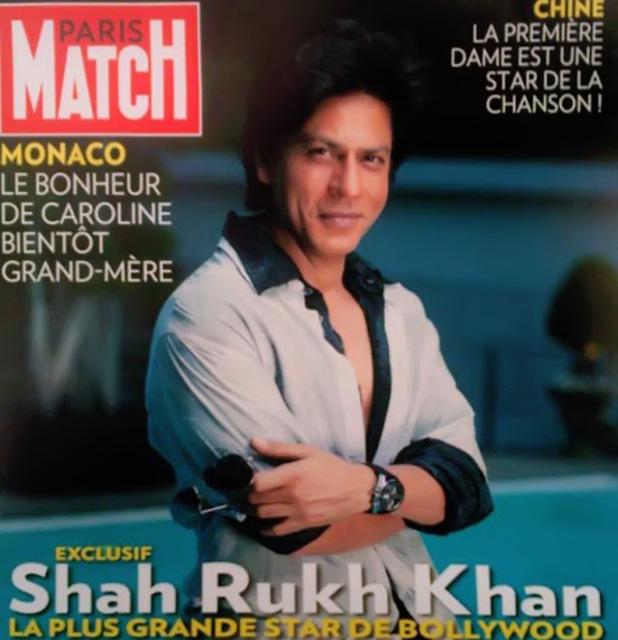Shah Rukh Khan graces cover of 'Paris Match' magazine