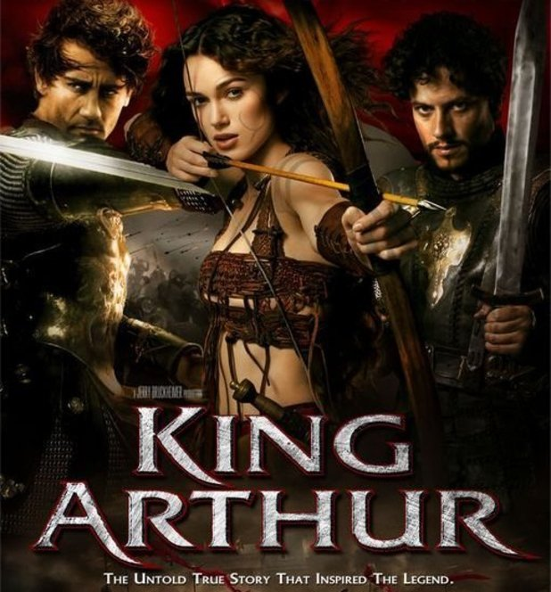 Keira Knightley in 'King Arthur' poster