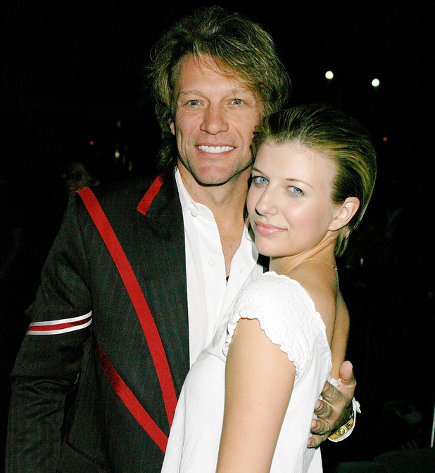 Jon Bon Jovi and daughter Stephanie Rose at the aftershow party for Richie Sambora and NIkki Lund's 'White Trash Beautiful' Fahion Line Show in the UK at the Indigo 02