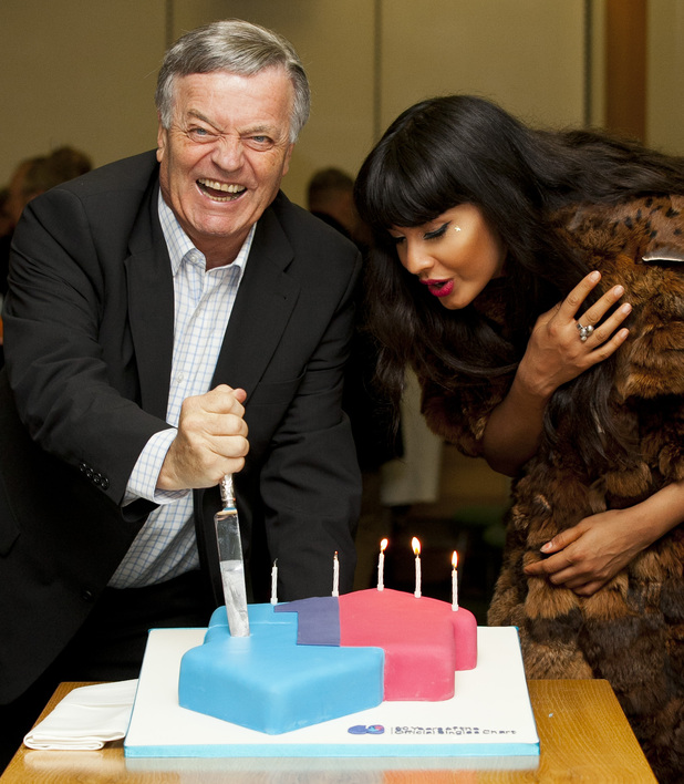 Official Charts 60th birthday: Tony Blackburn and Jameela Jamil