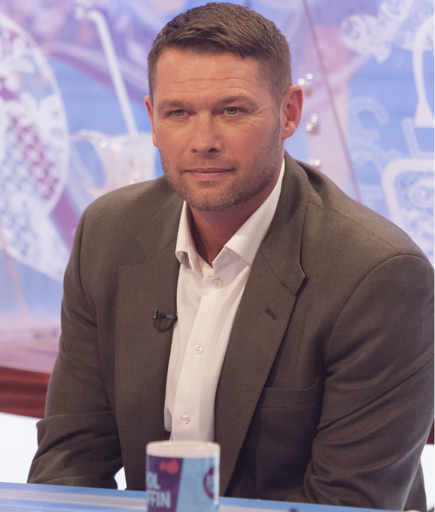 Eastenders star John Partdridge appears on Loose Women