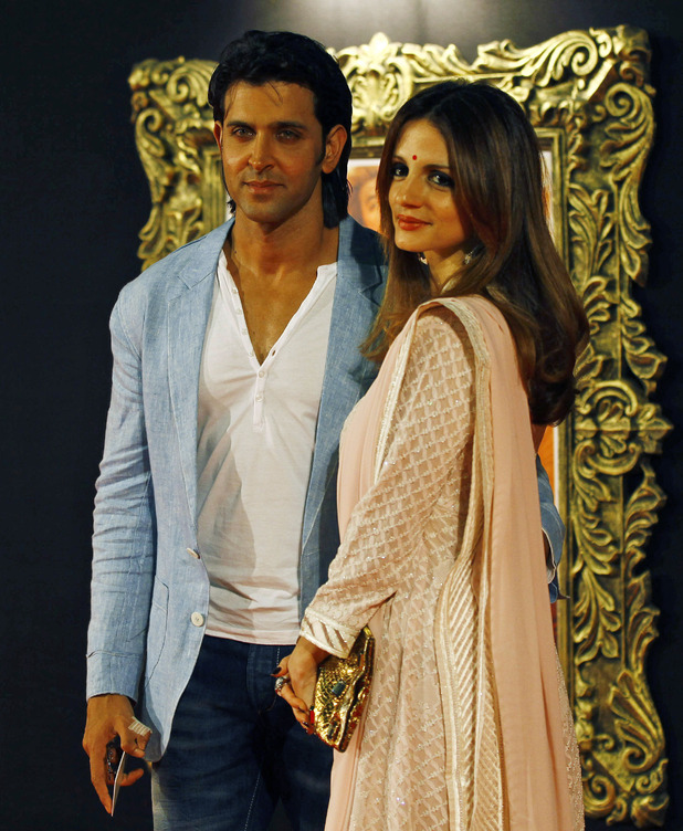 Hrithik Roshan and wife Suzanne Roshan