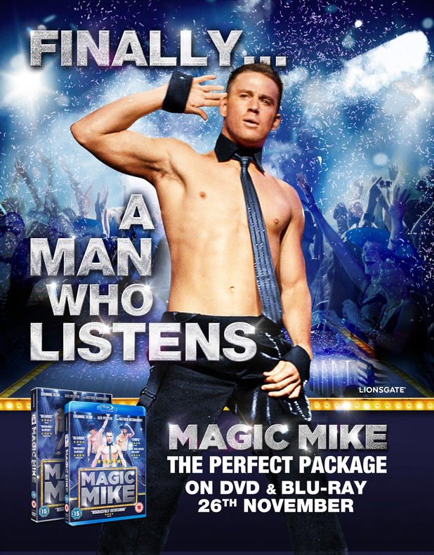 Magic Mike poster artwork
