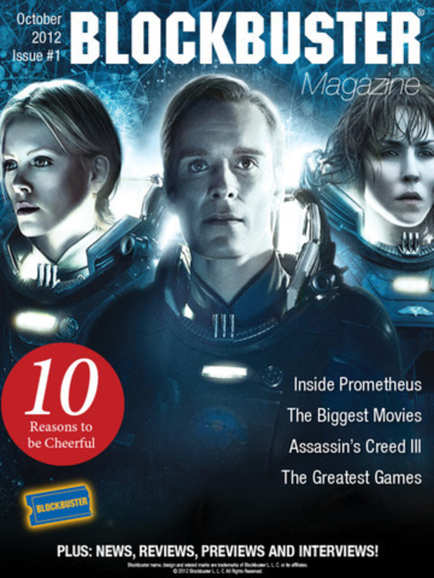 Blockbuster launches movies magazine on tablets