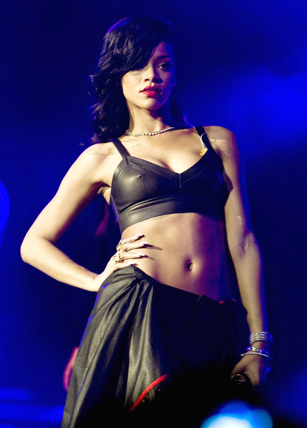 Rihanna, 777 tour, El Plaza Condesa, Mexico City, Mexico
