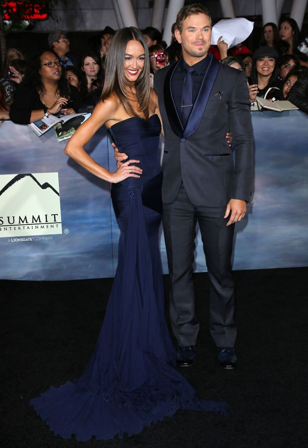 Breaking Dawn: Part 2 premiere - Sharni Vinson and Kellan Lutz