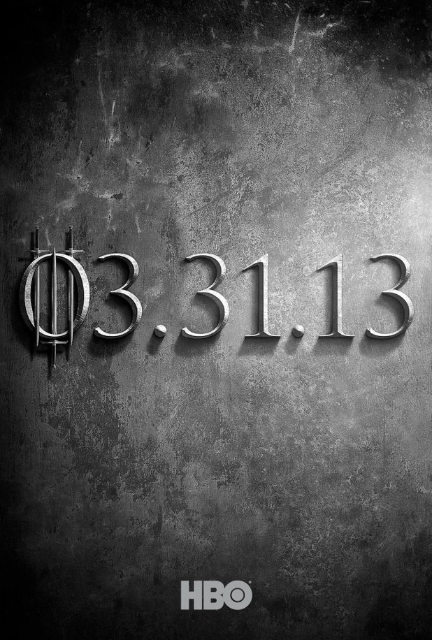 Game of Thrones season three poster