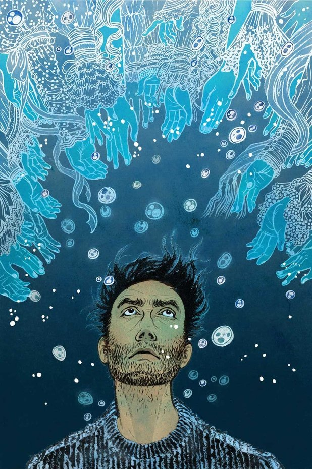 'The Unwritten' #43 artwork by Yuko Shimizu