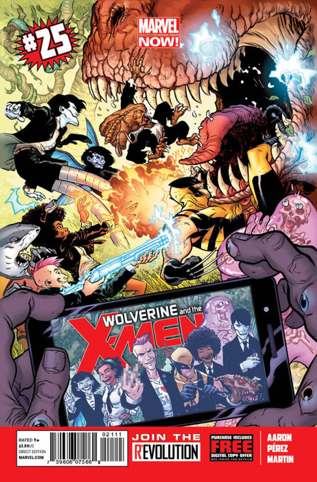 Wolverine & The X-Men Vol 25