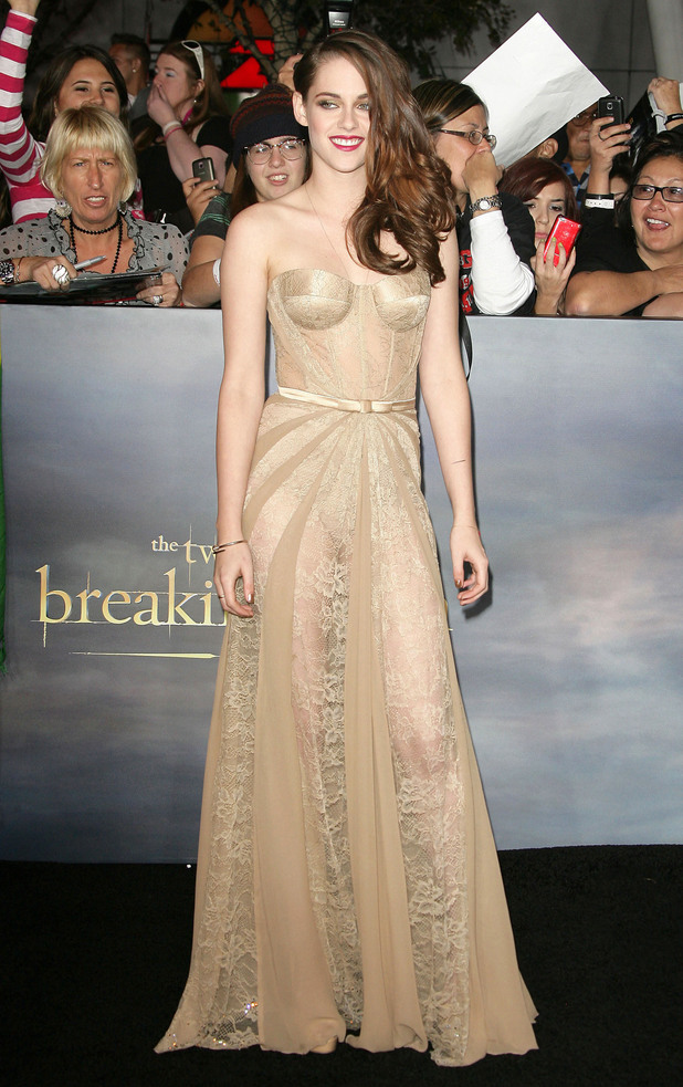 Kristen Stewart, at the premiere of 'The Twilight Saga: Breaking Dawn - Part 2' at Nokia Theatre L.A. Live. Los Angeles, California - 12.11.12 Mandatory Credit: WENN.com