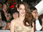 Kristen Stewart flashes bottom in dress