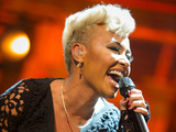 Emeli Sand at London&#39;s Royal Albert Hall