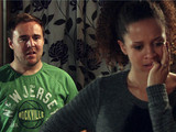 8007: Tyrone apologises to Kirsty for keeping Fiz's harassment a secret and begs her to marry him