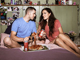 Him & Her: Steve (RUSSELL TOVEY), Becky (SARAH SOLEMANI)
