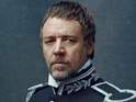 """Russell Crowe says that director Tom Hooper wanted the vocals """"raw and real""""."""