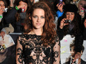 Kristen Stewart wears sheer catsuit at Twilight premiere in London.