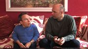 Warwick Davis and Karl Pilkington on 'An Idiot Abroad'
