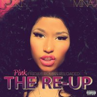 Nicki Minaj &#39;The Re-Up&#39; album artwork.