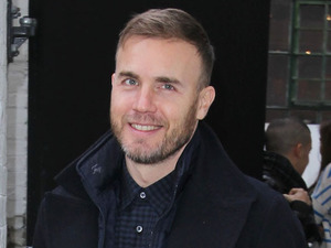 Judges and contestants outside The X Factor rehearsal studiosFeaturing: Gary Barlow Where: London, England When: 19 Nov 2012 Credit: WENN.com