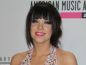 Carly Rae Jepsen at the AMAs 2012