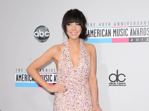 Carly-Rae Jepson at AMA's