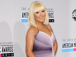 Christina Aguilera, 40th Anniversary American Music Awards, Arrivals, Los Angeles, America