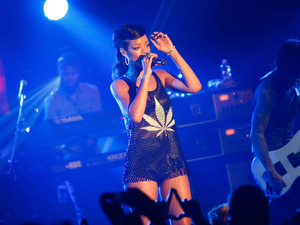 Rihanna performing live during her 777 tour at E-Werk. Berlin, Germany - 18.11.2012