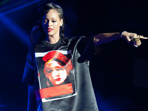 Rihanna performing live as part of her '777 tour' at Le Trianon Paris, France - 17.11.12 **Available for publication in the UK & USA only. Not for publication in the rest of the world** Credit: WENN.com