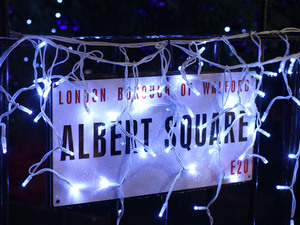 EastEnders Christmas 2012: Albert Square goes festive.